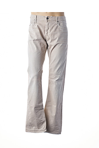 Jeans coupe droite beige REPLAY pour homme