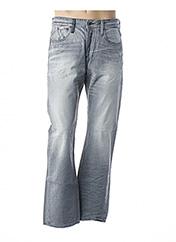 Jeans coupe droite gris REPLAY pour homme seconde vue