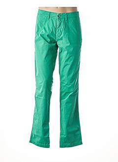 Pantalon casual vert EDEN PARK pour homme