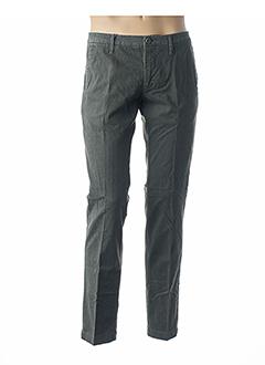 Pantalon casual vert MANUEL RITZ pour homme