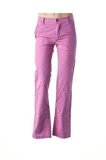 Pantalon casual rose HUGO BOSS pour femme