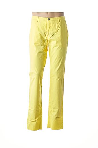 Pantalon casual jaune HUGO BOSS pour homme