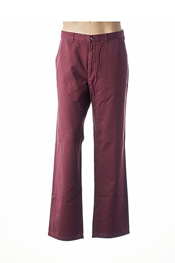 Pantalon casual rouge GANT pour homme