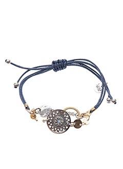 Bracelet bleu FRANCK HERVAL pour femme