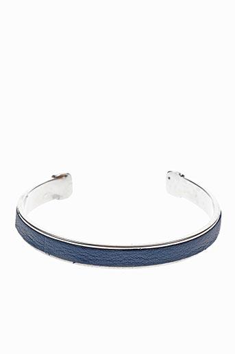 Bracelet Manchette bleu ORI TAO pour femme