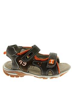 Sandales/Nu pieds marron KOUKI pour garçon
