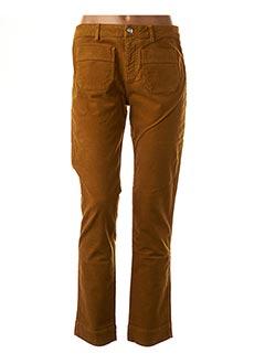Pantalon 7/8 jaune LAB DIP PARIS pour femme