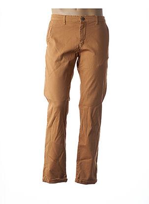 Pantalon casual jaune RECYCLED ART WORLD pour homme