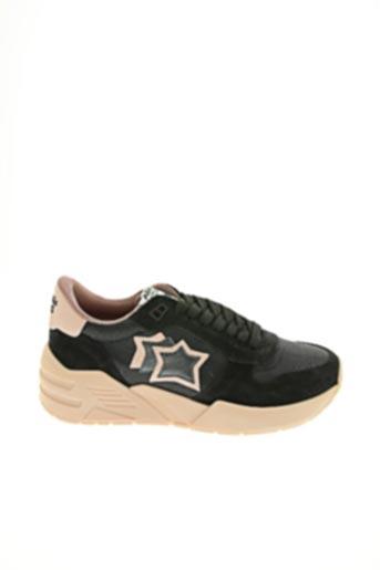 Baskets noir ATLANTIC STAR pour femme