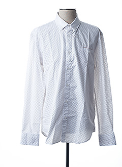 Chemise manches longues beige CAMBERABERO pour homme