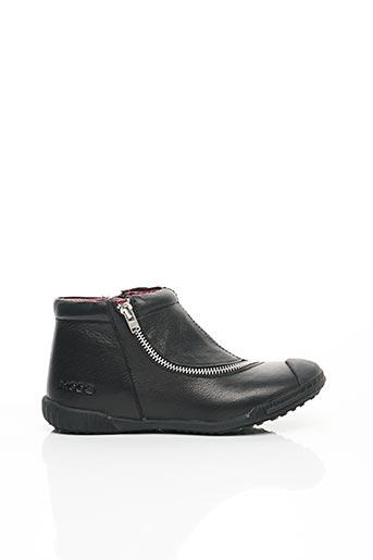 Bottines/Boots noir MOD8 pour fille