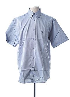 Chemise manches courtes gris ARMORIAL pour homme