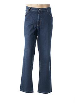 Jeans coupe droite bleu REVILS pour homme