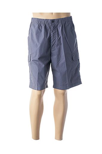 Bermuda bleu CROSSFIELD pour homme