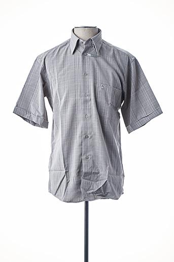 Chemise manches courtes beige BANDE ORIGINALE pour homme