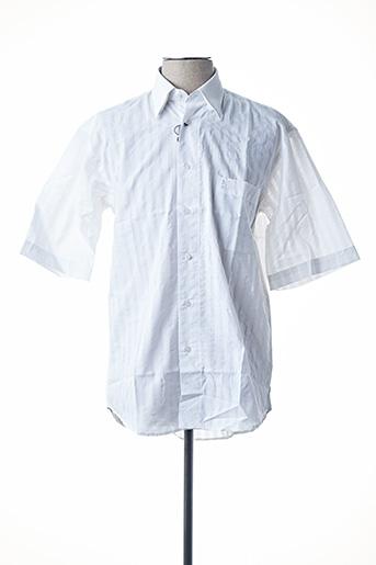 Chemise manches courtes blanc BANDE ORIGINALE pour homme