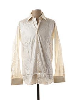 Chemise manches longues beige FACIS pour homme