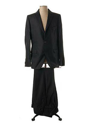 Veste/pantalon noir LUCIANO SOPRANI pour homme