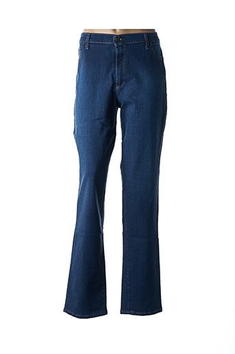 Jeans coupe droite bleu CINOCHE pour femme
