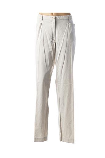 Pantalon 7/8 beige ARMOR LUX pour femme
