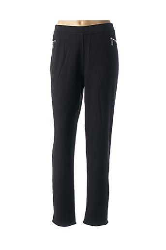 Pantalon casual noir BARANDI pour femme