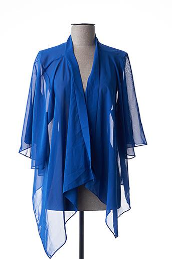 Veste casual bleu INSTYLE pour femme