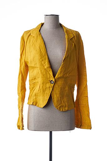 Veste casual jaune CRISTINA GAVIOLI pour femme