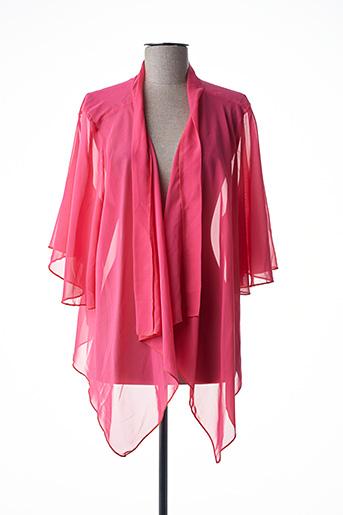 Veste casual rose INSTYLE pour femme