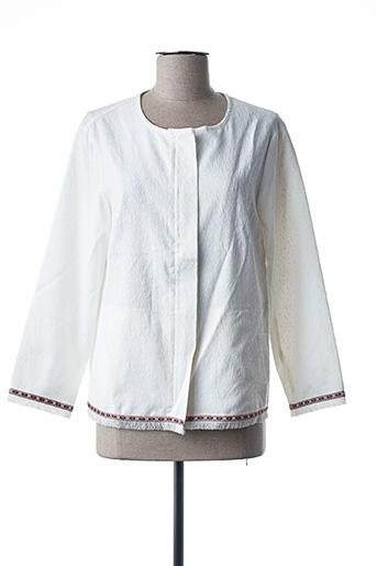 Veste chic / Blazer blanc ANA SOUSA pour femme