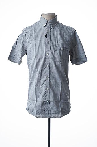 Chemise manches courtes gris CALAMAR pour homme