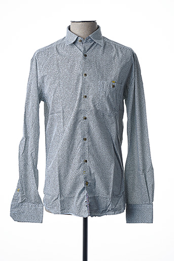Chemise manches longues gris CALAMAR pour homme