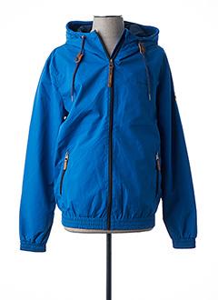 Blouson bleu RAGWEAR pour homme