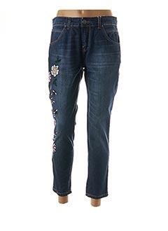 Jeans boyfriend bleu R JEANS pour femme