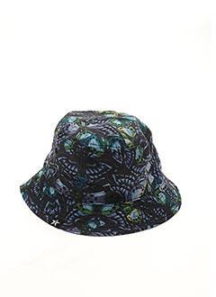 Chapeau bleu TWO ANGLE pour homme