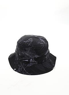Chapeau gris TWO ANGLE pour homme
