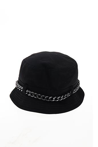 Chapeau noir THE NEW DESIGNERS ! pour homme