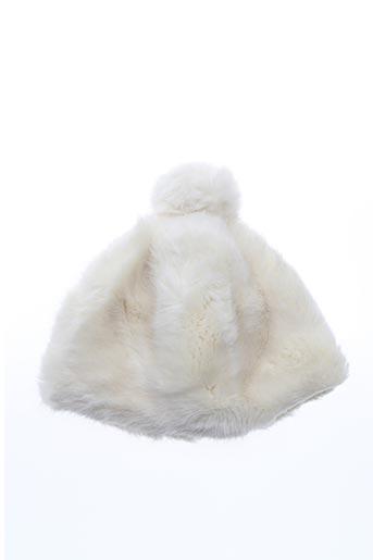 Bonnet blanc AMENAPIH pour femme