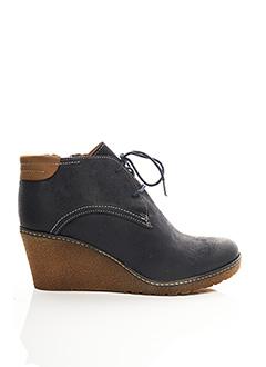 Bottines/Boots bleu ARIMA pour femme