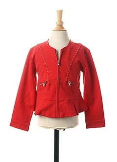 Veste casual rouge MAYORAL pour fille