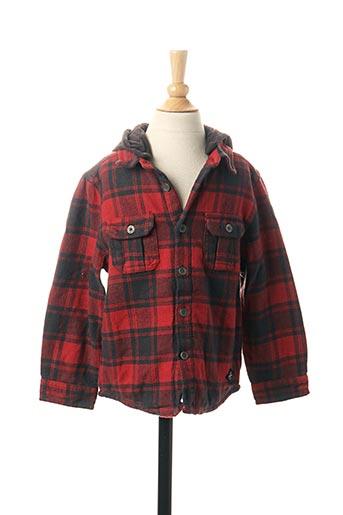 Veste casual rouge 3 POMMES pour garçon