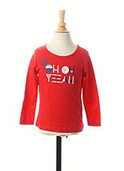 T-shirt manches longues rouge ESPRIT pour fille seconde vue