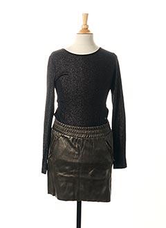 Robe courte noir BECKARO pour fille