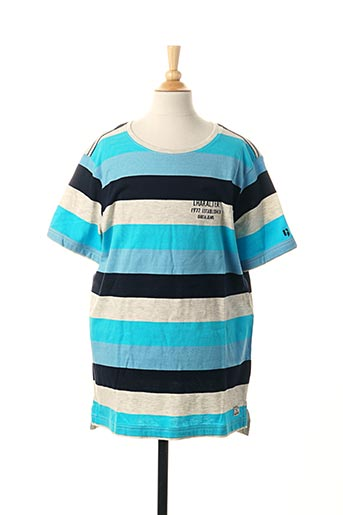 T-shirt manches courtes bleu GARCIA pour garçon