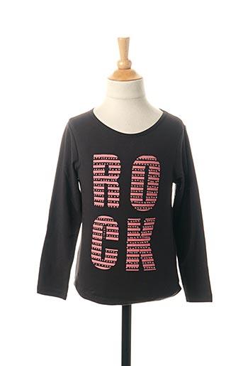 T-shirt manches longues noir ESPRIT pour fille