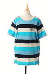 T-shirt manches courtes bleu GARCIA pour garçon seconde vue
