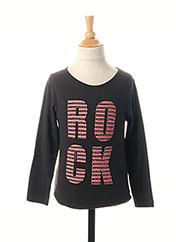 T-shirt manches longues noir ESPRIT pour fille seconde vue
