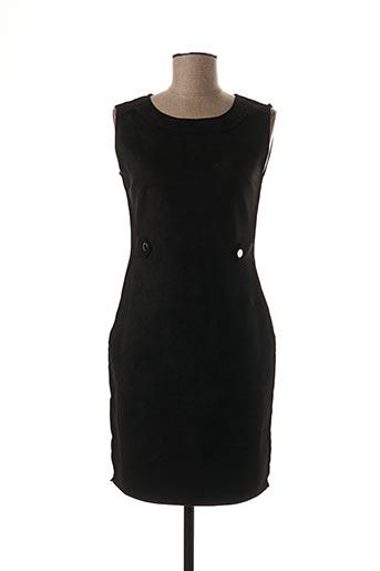 Robe courte noir H F WOMAN COLLECTION pour femme