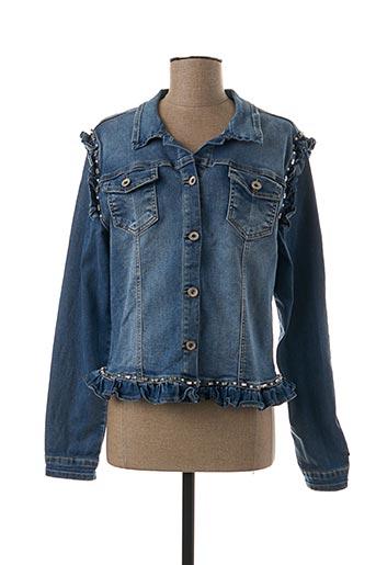 Veste en jean bleu ONADO pour femme