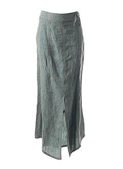 Jupe longue bleu SANDWICH pour femme
