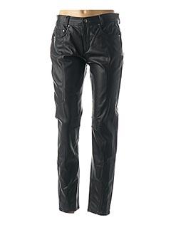 Pantalon chic noir ANNA MONTANA pour femme